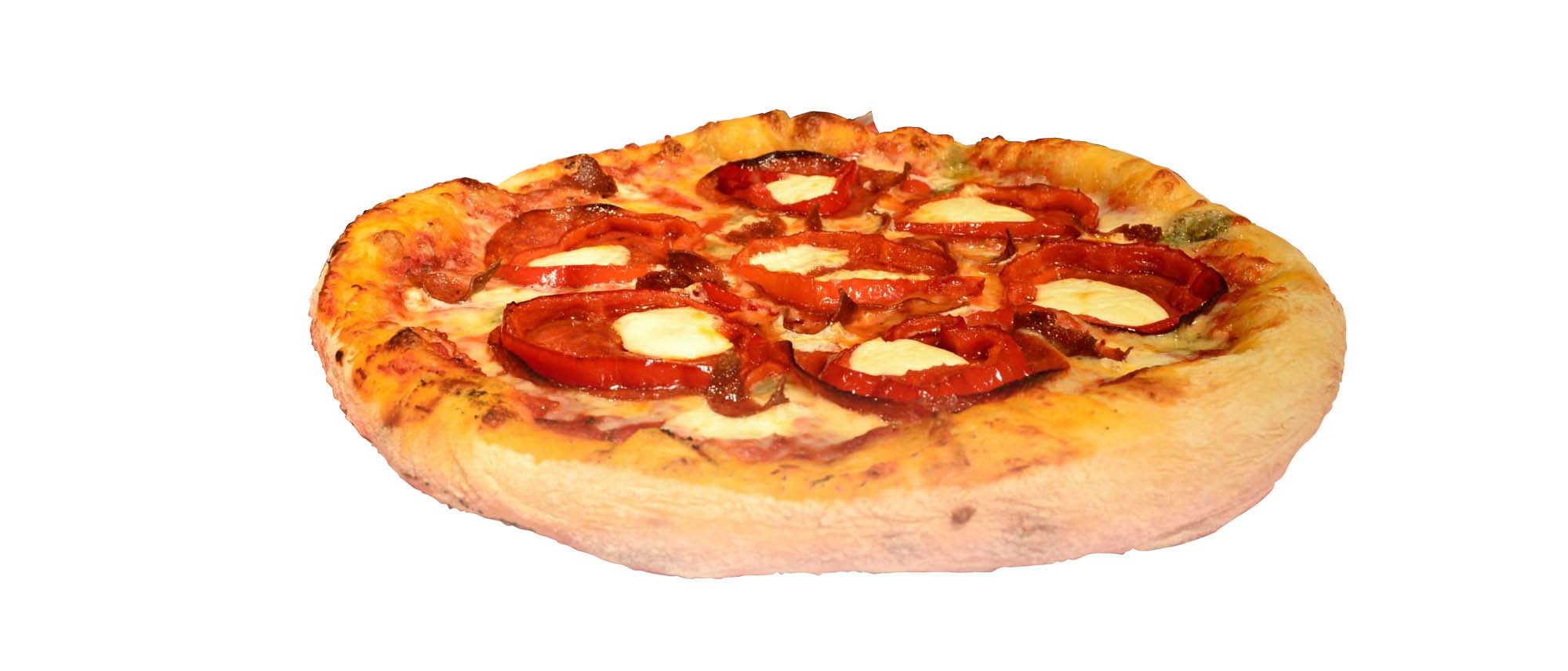 large pepperoni pizza