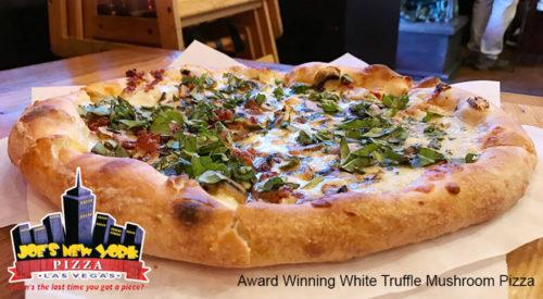 Award Winning White Truffle Mushroom Pizza